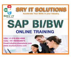 SAP BI/BW ONLINE TRAINING | BIBW COURSE DETAILS | SRY IT SOLUTIONS