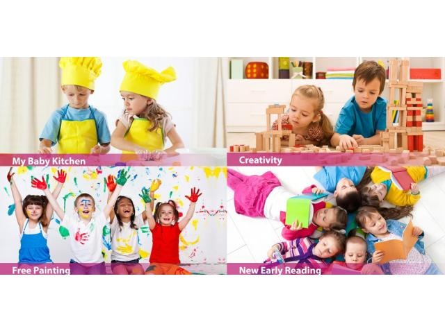 Nursery In Abu Dhabi For Kids Aged 1 Month To 4 Years