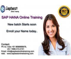 SAP HANA Online Training India Hyderabad | SAP HANA Project Support