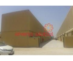 1,700 sq. ft warehouse with office for lease! Available in Jebel Ali!