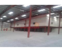 48,100 sq ft Warehouse for lease in Dip with 500 Kw Power.