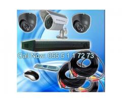 CCTV Security Camera Installation service dubai sharjah ajman.