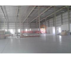 160,000 sq ft openland with 25,000 sq ft builtup area in Jebel Ali for sale.