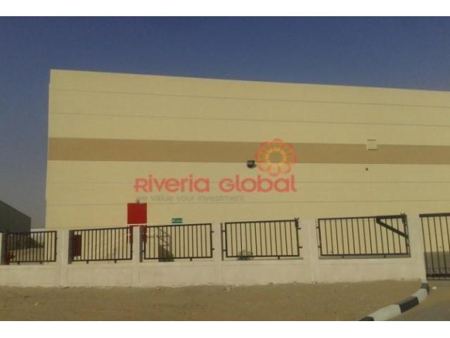 Available 76,000 sq ft Openland with 48,000 sq ft builtup area for sale in DIP