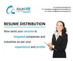 Resume Distribution Services, CV Distribution Services in Dubai