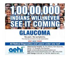 Get the best Glaucoma service at eye hospital near panvel, kharghar