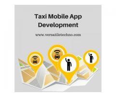Taxi Mobile Application Development Company - Versatile Techno