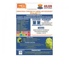 Android Workshop for engineering colleges