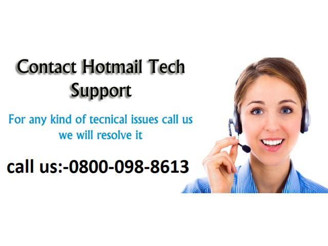 customer Support number for Hotmail 0800-098-8613 uk