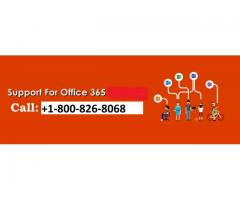 Office 365 support toll free number +1-800-826-8068