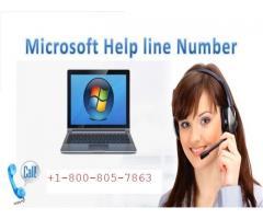 Microsoft help number+1-800-805-7863