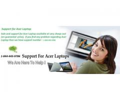 Best Technical Support for Acer laptops call - 1-844-445-9786