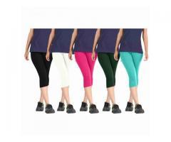 Buy Cotton Capri Pants Online