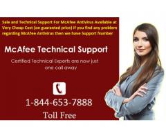 Support Help for McAfee Cyber Security 1-844-653-7888 USA
