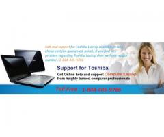 Best Customer Care Support for Toshiba Laptops 1-844-445-9786