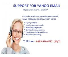 Customer Service Support for Yahoo Email 1-855-570-6777