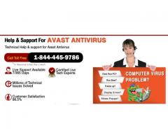 Customer Support for Avast Antivirus 1-844-445-9786 UK