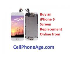 Buying an iPhone 6 screen replacement online