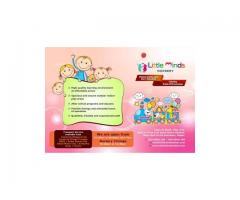 LITTLE MINDS NURSERY - Nursery near Dubai Sports City 050 8898 180