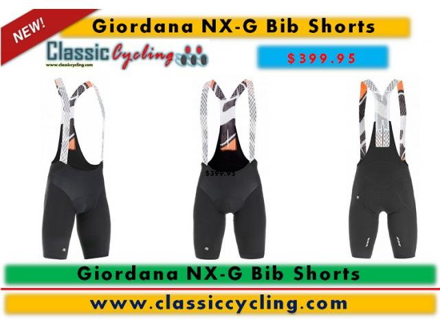 The Next Generation in Giordana Cycling Apparel | NX-G Cycling Bib Short