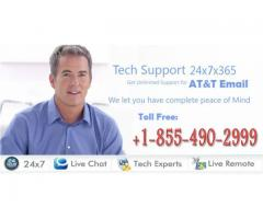 Call @ (+1) 855-490-2999 @ AT&T technical support number