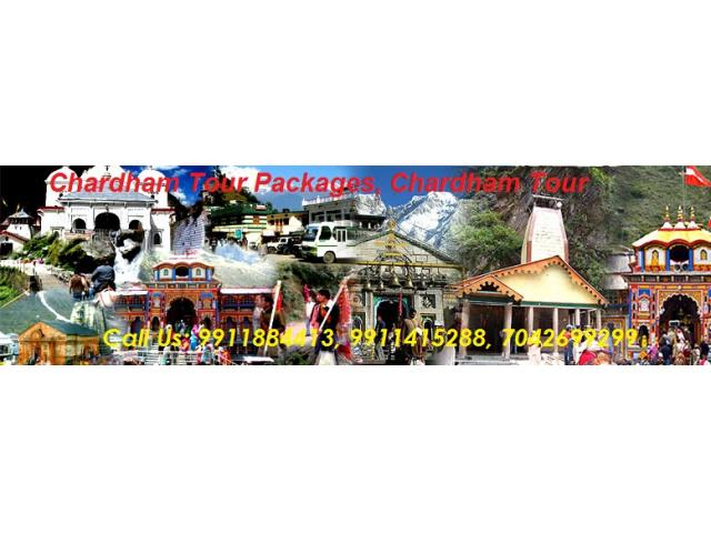 Chardham Yatra Deluxe Tour Package From Delhi