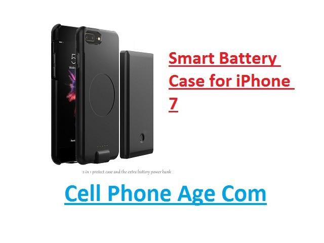 Smart Battery Charging Case for iPhone 7