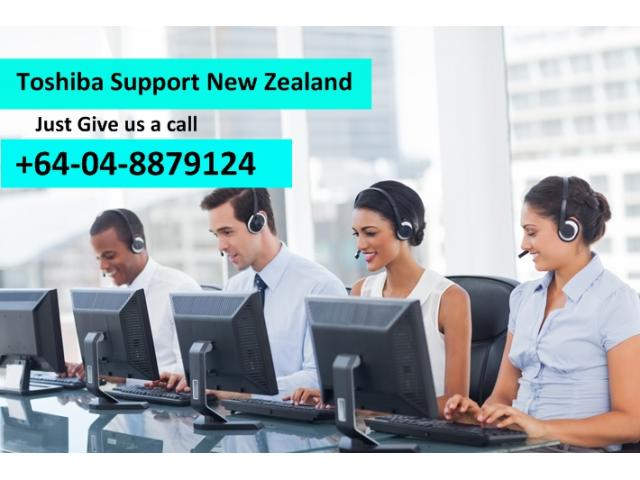 Toshiba Device Customer Support Number NZ 04-8879124