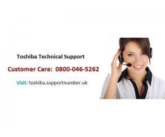 Toshiba Customer Support Service UK 0800-046-5262