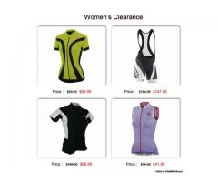 Women's Cycling Clothing Clearance Sale 50% to 80% OFF