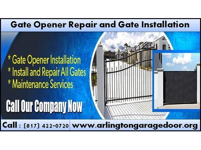 Gate Opener Repair and Installation Starting $26.95 Arlington, Dallas