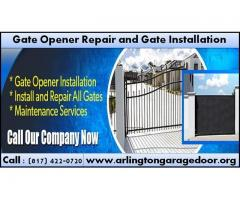 Gate Opener Repair and Installation Starting $26.95 Arlington, Dallas