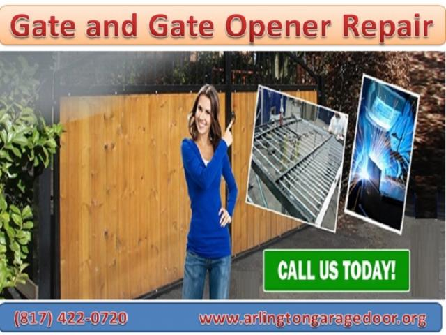Gate Repair and Installation Service Arlington, Dallas | Starting $26.95
