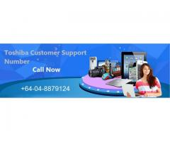 Dial Toshiba Customer Support NZ +64-04-8879124
