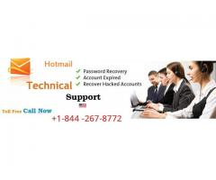 Hotmail customer service phone number +1-844-267-8777