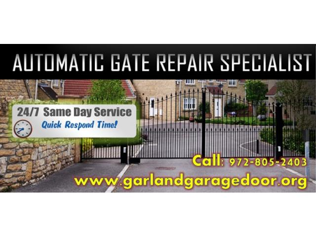 Best Automatic Gate Opener Repair @ Garland, Dallas | Starting $26.95