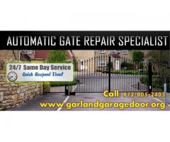 Best Automatic Gate Opener Repair @ Garland, Dallas | Starting $26.95