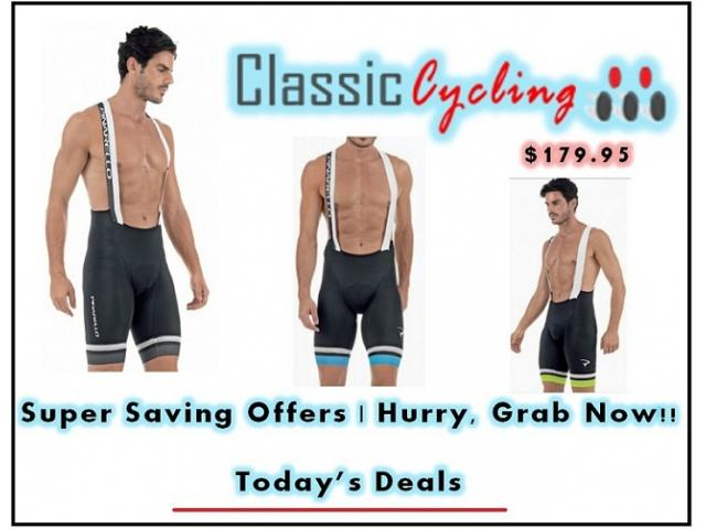 Pinarello Corsa Men's Cycling Bib Shorts - Black/Sky Blue