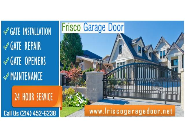 Gate and Gate Opener Repair Starting $26.95 | Frisco, Dallas