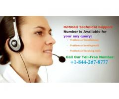 Hotmail Support Phone Number +1-844-267-8777