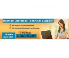 Hotmail Customer Care Number +1-844-267-8777