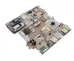 3D Floor plan outsourcing