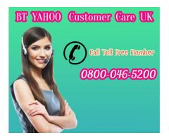 BT Yahoo UK password assistance 0800-046-5200