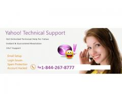 Yahoo Mail support Number +1-844-267-8777