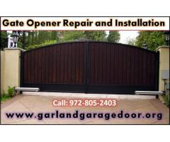 Residential Gate Opener Repair Garland, Dallas | Starting $26.95