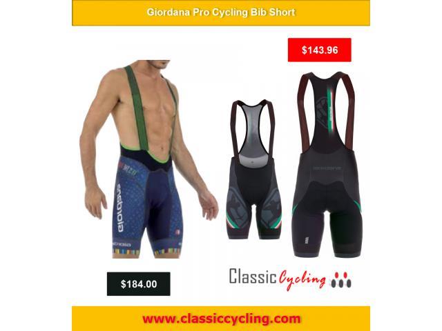 Huge Discount on Giordana Pro Cycling Bib Short   Men's Cycling Shorts