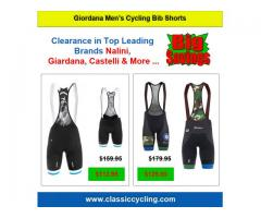Buy Leading Branded Men's Cycling Clothes | Giordana Pro Bib Short