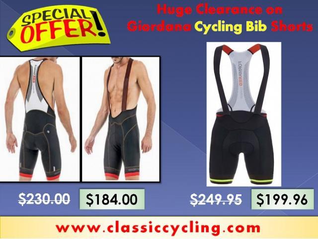Super Saving Offer on Giordana Pro Cycling Bib Shorts