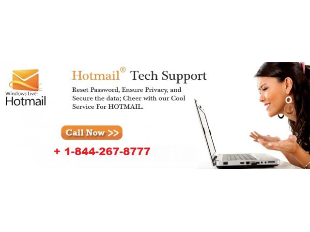 Third party service provide Hotmail Tech Support Number +1-844-267-8777