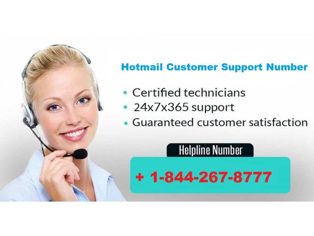 365 days support provide Hotmail Customer Support Number +1-844-267-8777